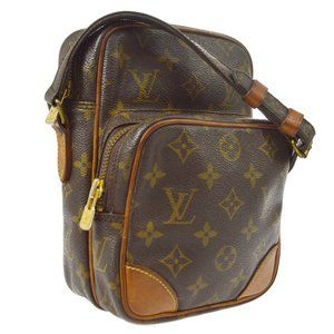 Auth Louis Vuitton Amazon Pm Crossbody #7380L22